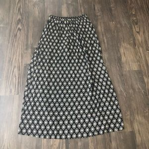 Band of Gypsies Skirts - Band of Gypsies Shorts with Maxi Skirt Overlay